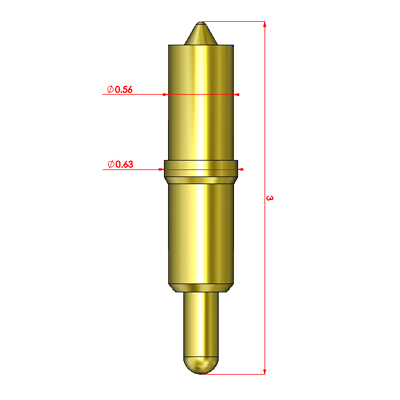 High Power Probe (Conical tip)